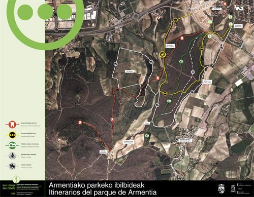 Armentiako parkearen informazio panela - Armentia4