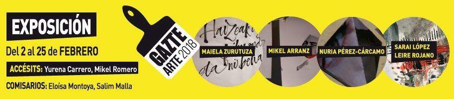 Gazte Arte. Fase exposición 2017-2018