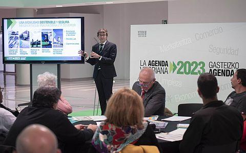 Urtaran presenta el Plan de mandato 2019-2023,