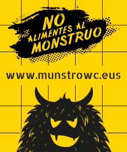 No alimentes al monstruo. www.mustrowc.eus