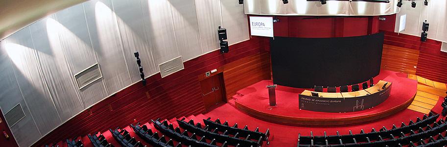 fotografía del auditorio