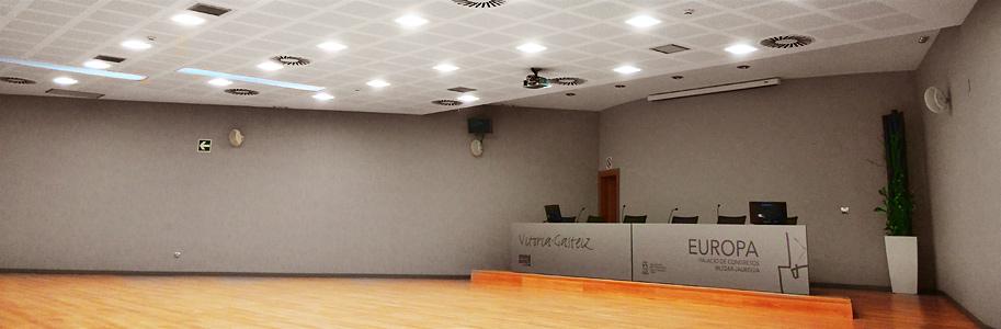 fotografía de la sala