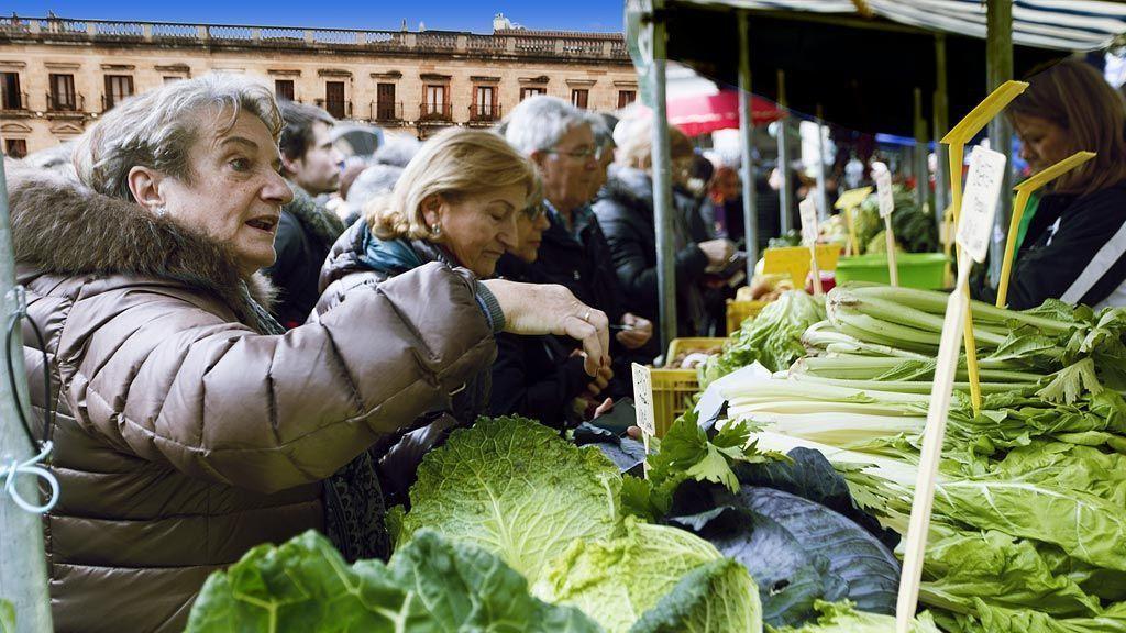 Mercado agrícola Navidad