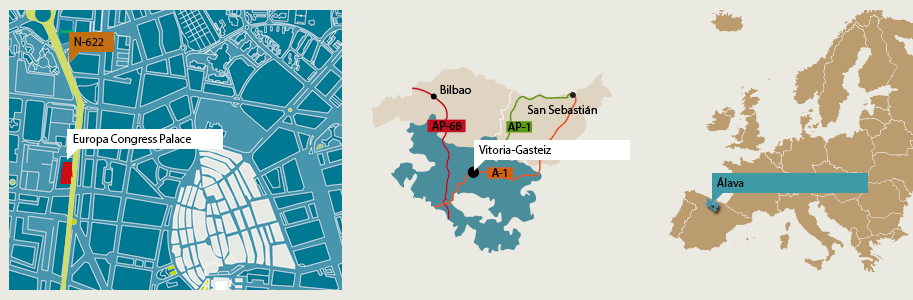 Website of the VitoriaGasteiz City Council Location