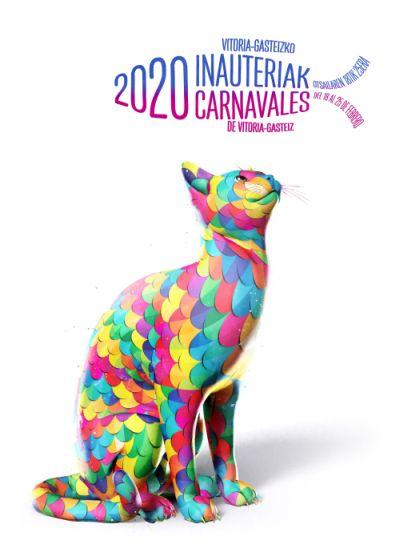 Cartel ganador carnavales 2020
