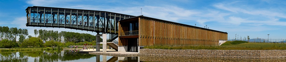 Ataria, Salburua wetlands interpretation centre