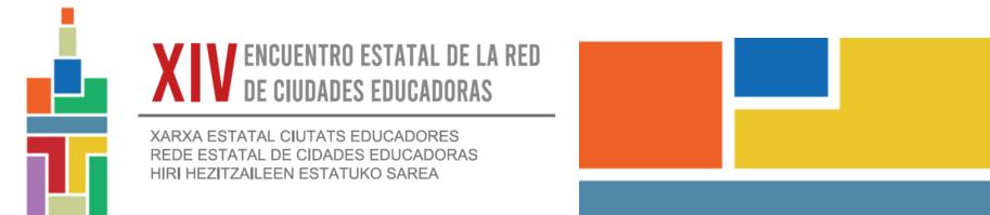 Vitoria-Gasteiz presenta una buena práctica en el XIV encuentro estatal de la RECE
