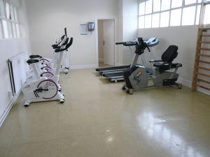Sala de ejercicio del Pol. Landázuri