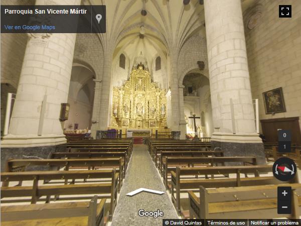 Iglesias - San Vicente Martir maps