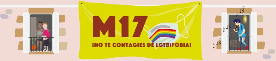 17M- No te contagies de LGTBIfobia