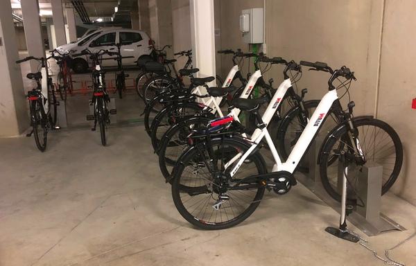 Bicicletas en San Martin
