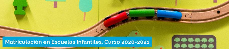 Matriculación en Escuelas Infantiles