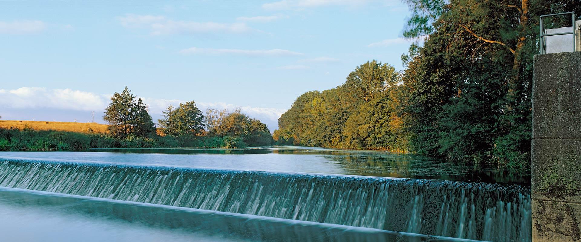 Zadorra river park