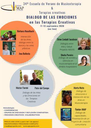 34ª Escuela de Verano de Musicoterapia y Teapias Creativas
