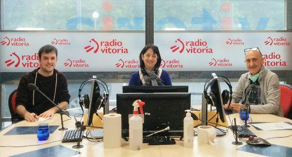 Joseba Pinedo, Pilar Ruiz de Larrea y Joseba Zabala