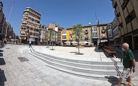 el nuevo aspecto de la Plaza
