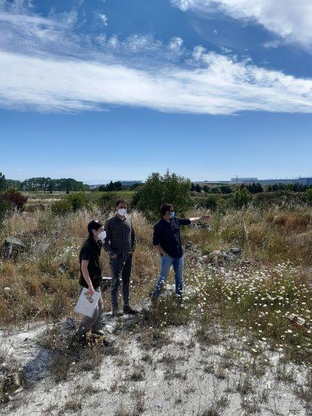 Zona del proyecto Mendebaldea
