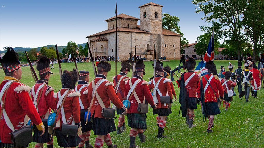 Turismo - Recreación batalla de Vitoria