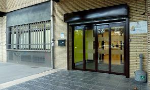 Imagen de la fachada del Centros Sociocultural de Mayores Arana