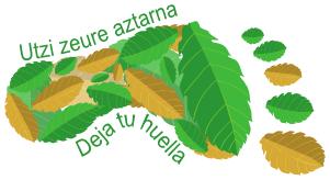 """Logo """"Deja tu huella"""""""