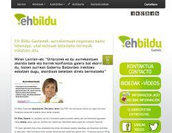 Web Grupo EH Bildu Gasteiz