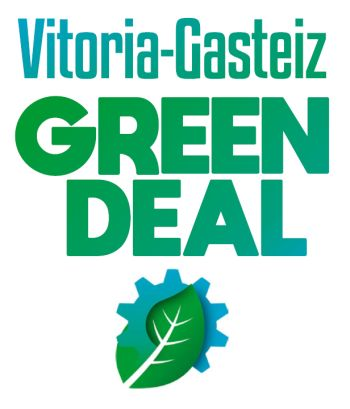 Logotipo del Vitoria-Gasteiz Green Deal