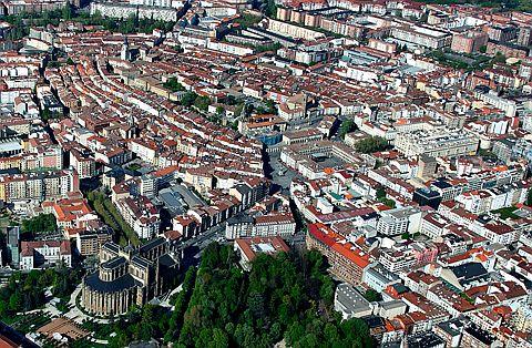Vitoria-Gasteizen airetiko ikuspegia