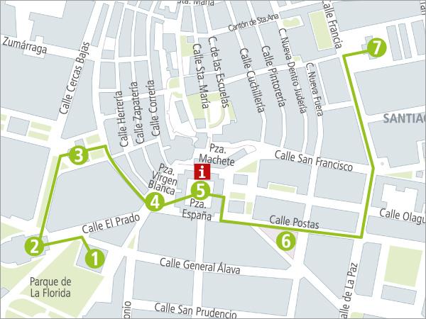 Turismo - Rutas - Zona centro