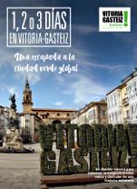 Tríptico '1, 2 o 3 días en Vitoria-Gasteiz'