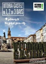 'Vitoria-Gasteiz in 1, 2 or 3 days' three-part brochure