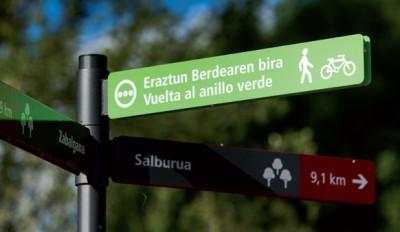 Señal de la Vuelta al Anillo Verde