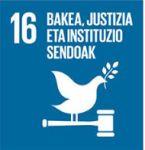 ODS 16 - Bakea, jutizia eta instituzio sendoak
