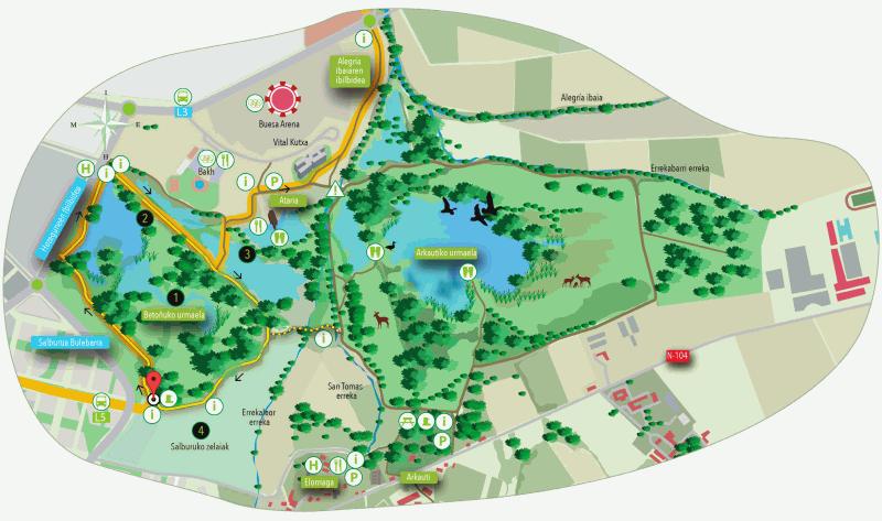 Ibilbidearen mapa