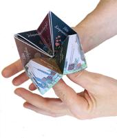 Origami con mano