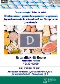 Taller vitamina D
