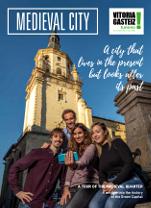 'Medieval City' three-part brochure