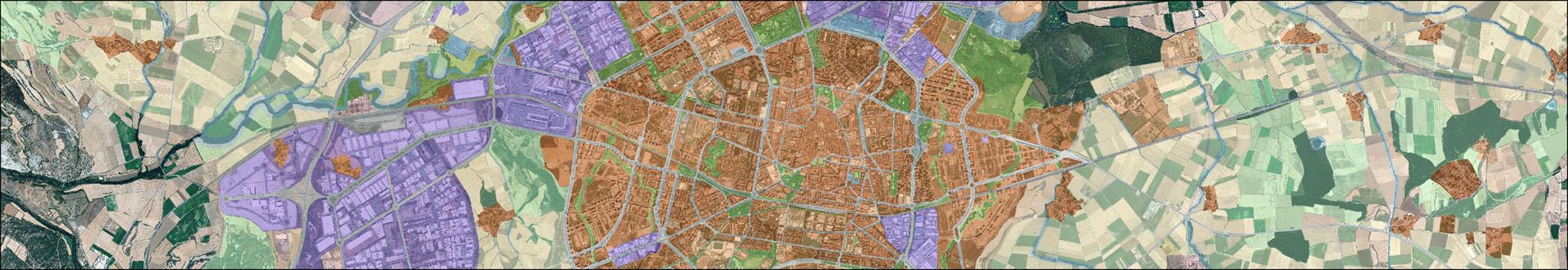 Mapa del PGOU