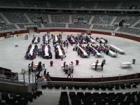 Banquete en el Iradier Arena