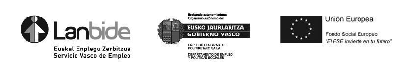 Lanbide Gobierno Vasco FSE