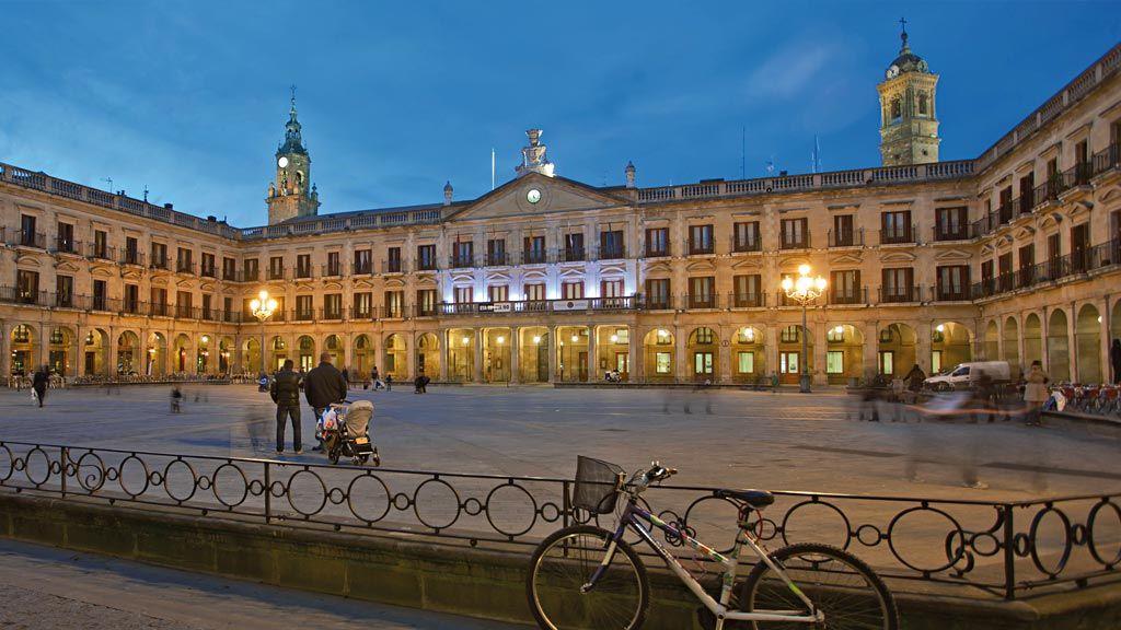 Turismo - Plaza España de Vitoria-Gasteiz