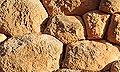 rocas en el suelo