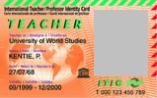 carné internacional de profesor