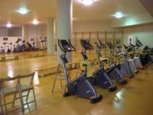 Gimnasio del módulo de atletismo del C. D. Mendizorrotza
