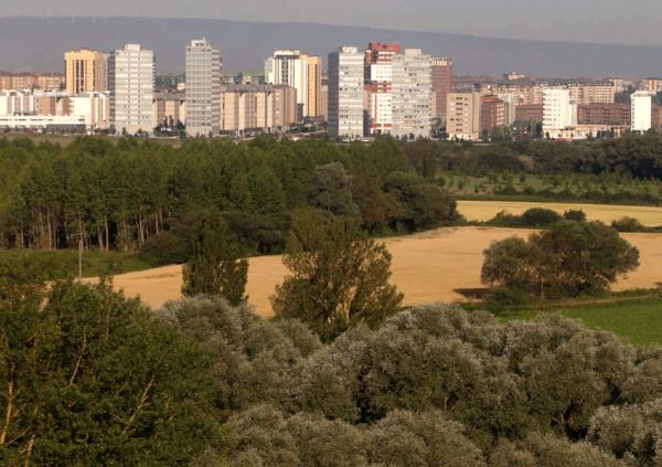 Parque y barrio de Salburua