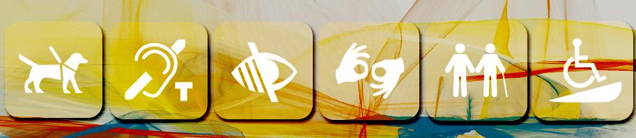 iconos relacionados con accesibilidad