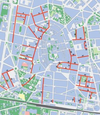 mapa de zonas 30