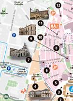 Turismo - Plano ciudad 1