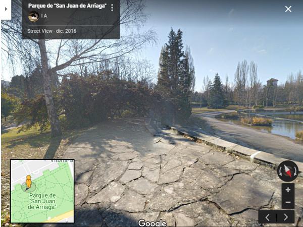 Arriaga en google maps