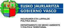 Logo Departamento de Medio Ambiente y Política Territorial del Gobierno Vasco