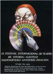 Cartel de promoción del festival del año 1984